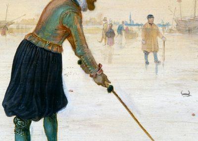 Avercamp, Hendrick - Kolfspelers op het ijs 3